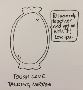 Tough Love Mirror